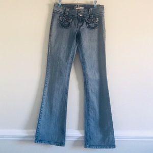 Hydraulic Jeans - HYDRAULIC CURVY FIT LIGHT WASH BOOT CUT JEANS